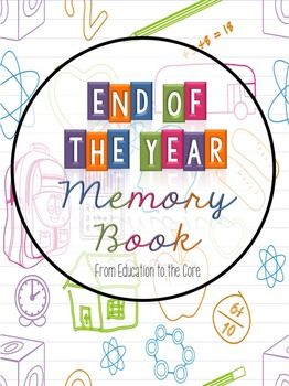 FREE Memory Book for Grades K-2 [Education to the Core]