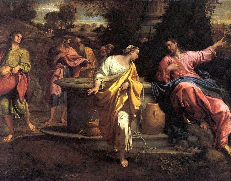 Annibale Carracci - The Samaritan Woman at the Well - WGA4446 - Annibale Carracci - Wikipedia