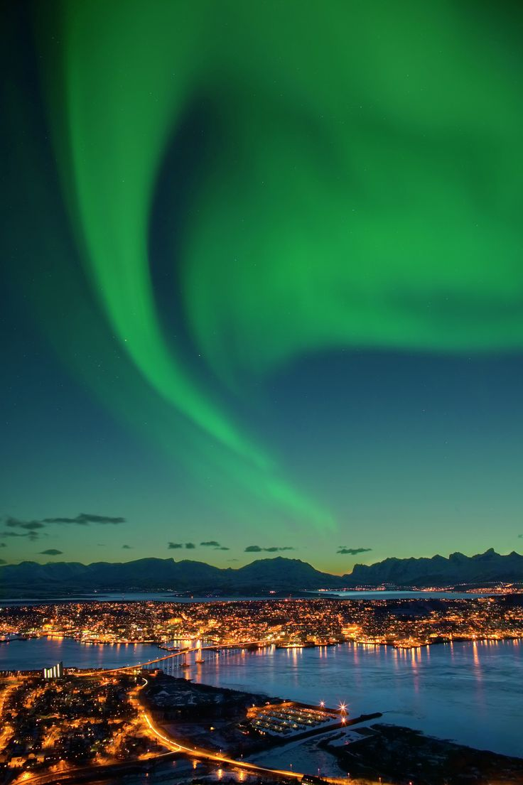 Prefer your light show with a soundtrack? Turn up in Tromsø for the annual Northern Lights festival (in 2015, January 24–February 1). The nine-day celebration features more than 40 jazz, classical, dance, and electronic performances, with some events taking place outside, potentially under the aurora borealis.