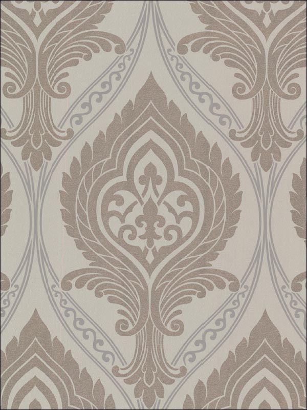 wallpaperstogocom wtg 119877 beacon house interiors contemporary wallpaper - Contemporary Damask Wallpaper