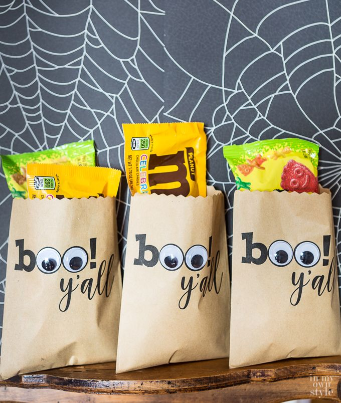Cute Halloween Treat Bags In My Own Style Affordable