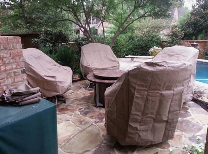 Treasure Garden furniture covers Yard of the Month   July   Yard Art Patio    Fireplace. 11 best images about Yard of the Month 2  July on Pinterest   Fire