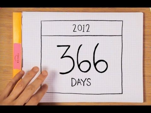 What Is a Leap Year?  Short animated video that explains the astronomy behind leap years. (Fantastic video short with the whole skinny on leap year, calendar time, and more. Really cool to watch anytime.)