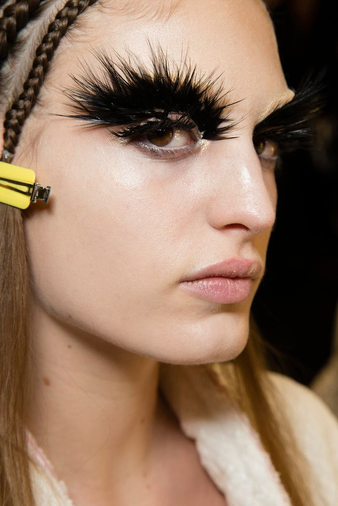 Alexander McQueen AW14/15 (Pat McGrath makeup) LOOK 4 RECREATION (HAYLEY)