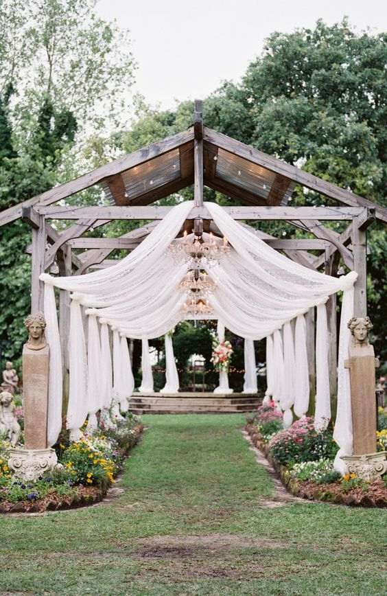 wedding reception entrance idea; photo: Krystle Akin