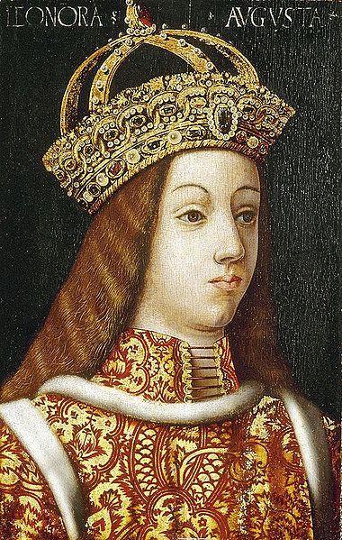 Leonor de Portugal por um seguidor de Hans Burgkmair, o Velho, 1473-1531