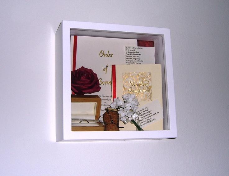 Wedding day memory box.