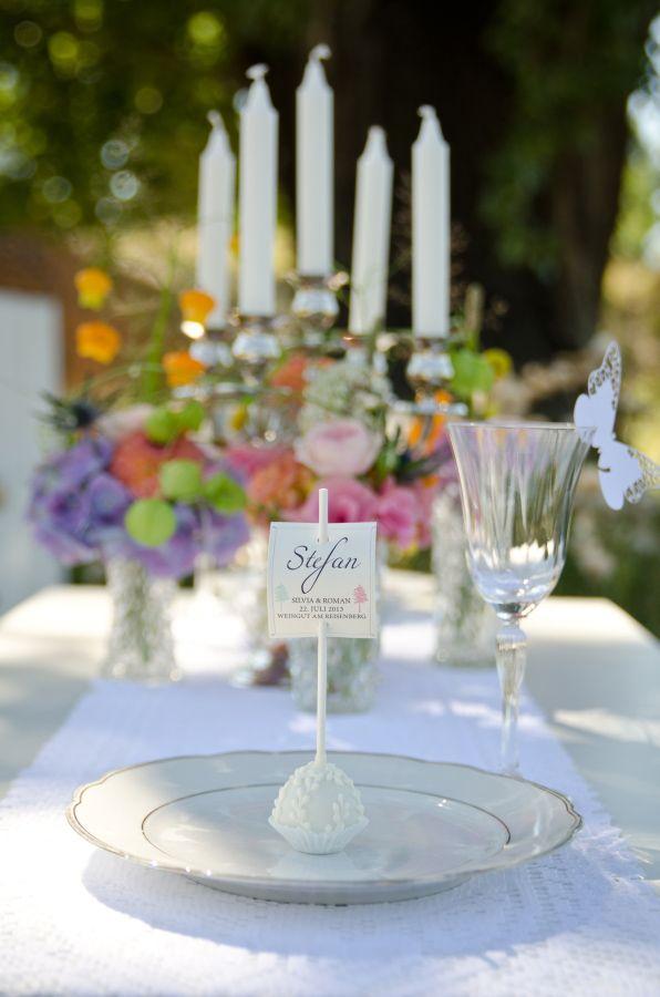 elegant place settings http://www.weddingchicks.com/2013/10/24/pastel-wedding-inspiration/