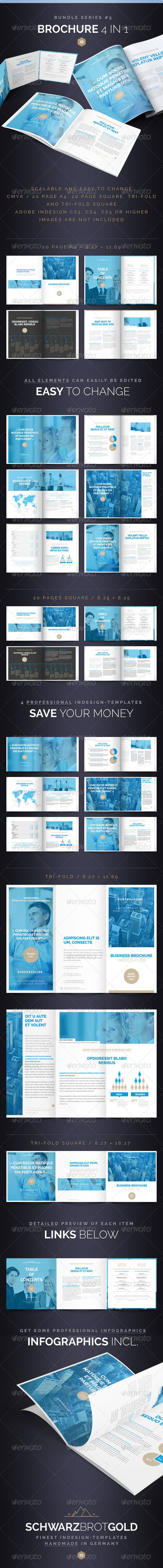 Brochure Bundle Series 5  #GraphicRiver        Brochure Bundle Series 5 InDesign CS3 / CS4 / CS5  Hello! Thank you very much for purchasing this