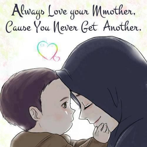 Too all my girls, you can not get another mother, and I can not get another daughter to replace you!.