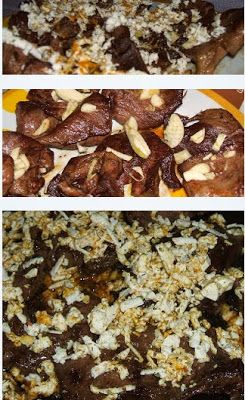 Házias receptek : Pecsenye disznószívből sajttal és curry-vel 30 perc alatt
