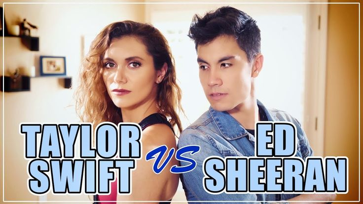 Taylor Swift VS Ed Sheeran MASHUP!! 20 Songs   ft. Alyson Stoner & Sam Tsui - YouTube