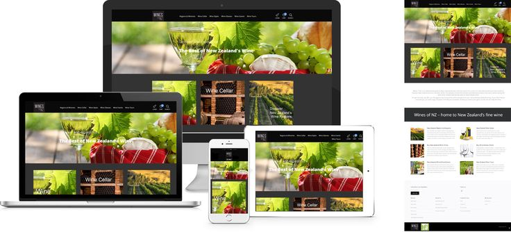 Wines of New Zealand - website design by Forge Online http://www.forgeonline.co.nz/google-adwords/