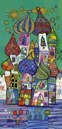 Adventskalender Kunst Für Grundschüler Hundertwasser