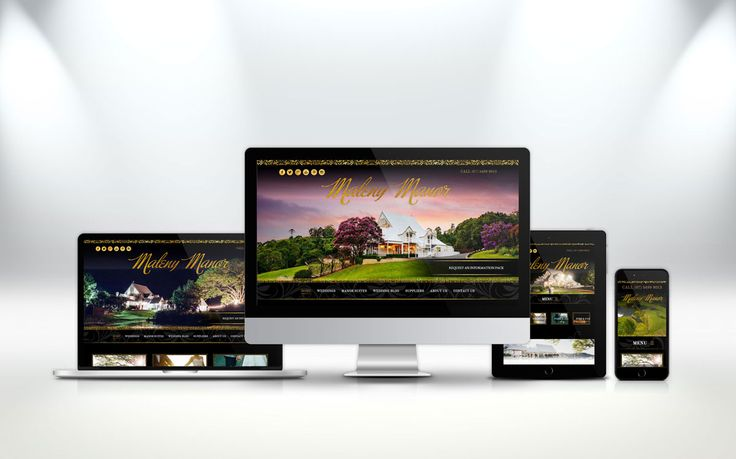 Premium #WebDesign for Australia's Number 1 Wedding Venue Maleny Manor. http://fig.cr/mm