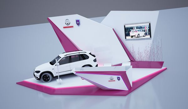 Jinpai car activation by ahmad arty, via Behance