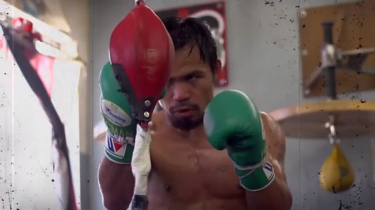 Preparing for his next fight against Chris Algieri, Manny Pacquiao has made it clear that his goal remains setting up a fight with Floyd Mayweather Jr.