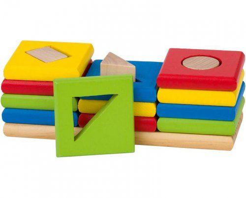 Παιχνίδι ταξινόμησης σχημάτων και χρωμάτων/ Color and shape sorting game