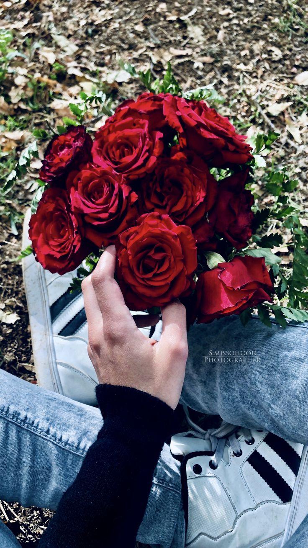 ورد احمر ورد Red Flower Wallpaper Iphone Wallpaper Tumblr Aesthetic Shadow Photos Brown Aesthetic