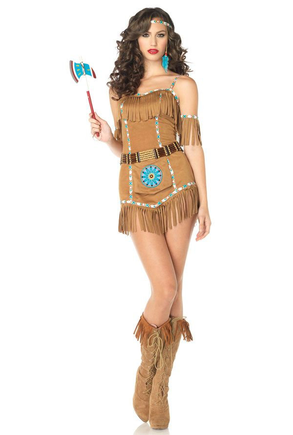 A Sexy Native American Costume For Women  Costumes -3348
