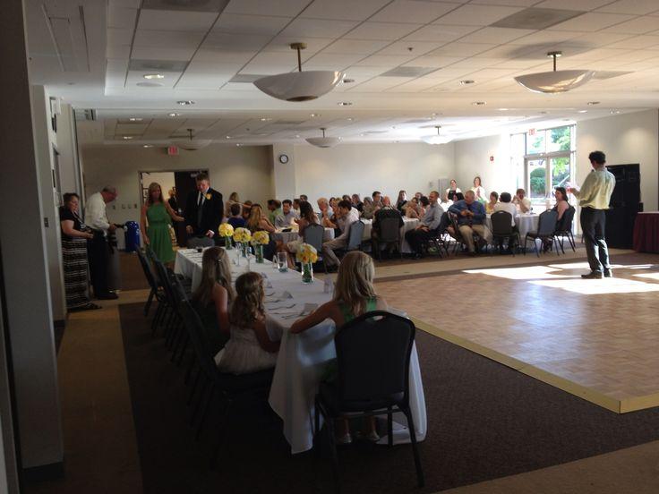 Economical #wedding #reception #venue rental at Ida Lee Recreation Center in Leesburg VA. #catered by www.teatimeinc.com