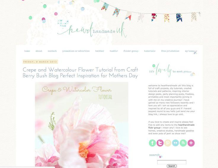 tabitha emma blog design