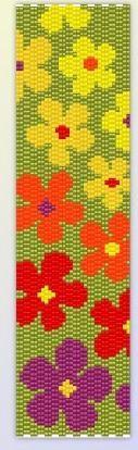 Браслеты, мозаика   biser.info - всё о бисере и бисерном творчестве