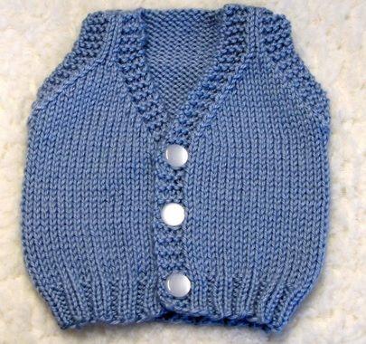 Kolay Örgü Bebek Yelek Örnekleri | Kadın & Moda