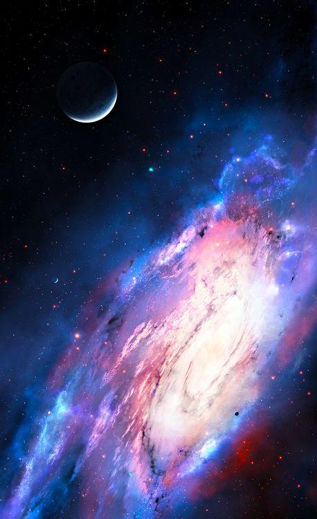 "Space art, cosmos, universe, nebula, galaxy, stars. ""Aphrodite"""