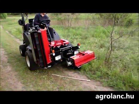 Toro LT-F3000 szárzúzó gép - YouTube