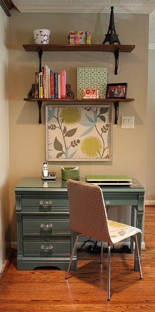 Diy Desk With Shelves