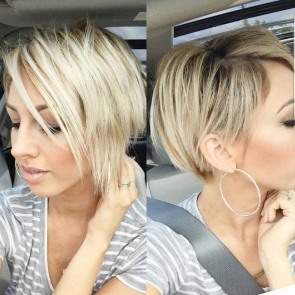 15 coiffures super élégant ! - Coupe Courte Femme