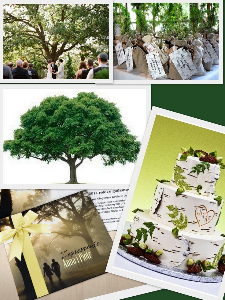 zaproszenie drzewo zaproszenie z drzewem rustykalne boho