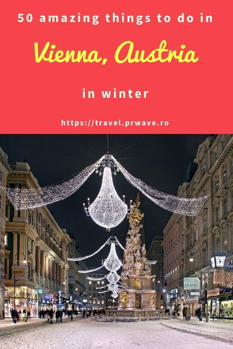 Planning To Visit Vienna In Winter Heres Your Complete List With