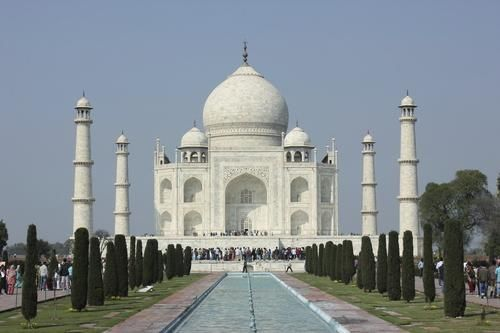 Lovers' Landmarks: The Tragic Love Stories Behind the Taj Mahal - built by Shah Jahan for his wife Mumtaz Mahal.