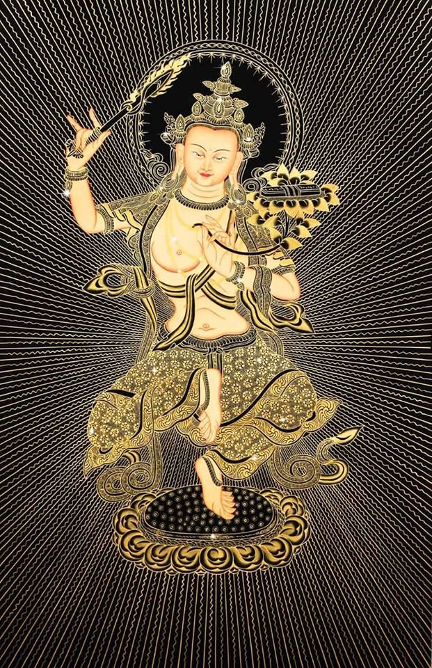 87 best joy images on pinterest buddhism green tara and manjusri happily severing the root of ignorance fandeluxe Image collections
