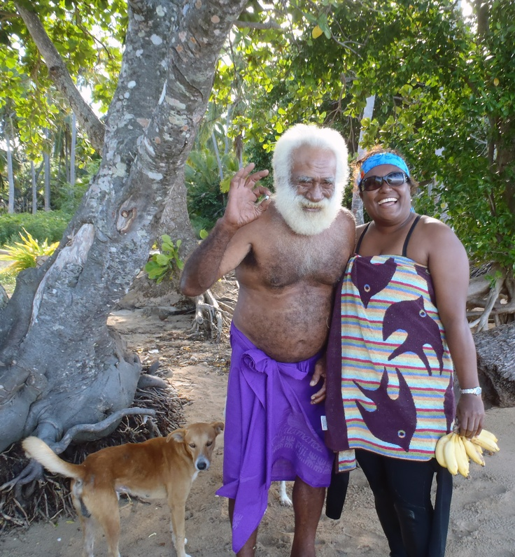 Miri and the Chief ~ Kadavu Fiji