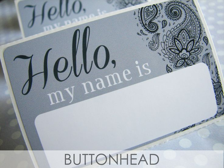 Wrapping up these chic #paisley name tags for a ladies luncheon. https://www.etsy.com/listing/236070252/10-wedding-name-tags-bridal-shower-name?utm_content=buffer81875&utm_medium=social&utm_source=pinterest.com&utm_campaign=buffer #EventProfs #EventPlanning