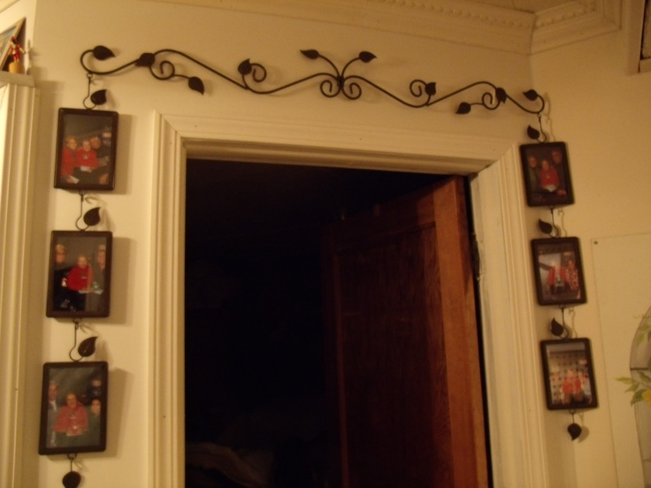 17 best ideas about door picture frame on pinterest for Decorative door frame ideas