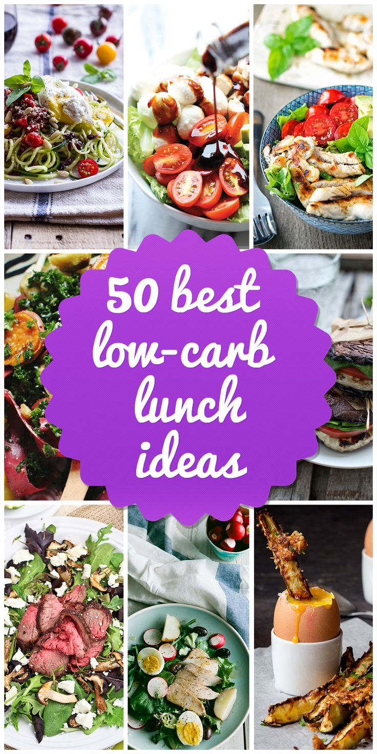Lose Weight with these 50 Delicious Low Carb Lunch Ideas