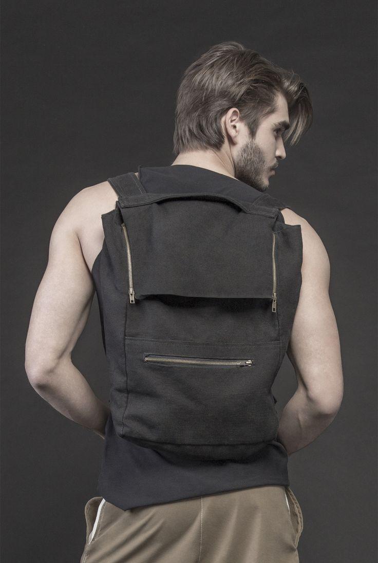 Men's backpack #PANTHEIST #CAVEINcollection #menswear pantheist.co