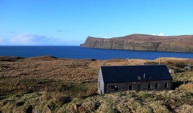 """Am Ende der Welt: """"Wood House"""", Isle of Skye (Schottland), www.skywoodhouse.co.uk"""