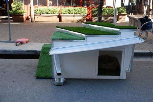 44 Best Images About Creative Dog Houses On Pinterest