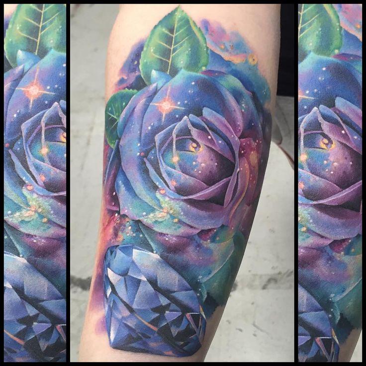 17 Best Ideas About Galaxy Tattoos On Pinterest