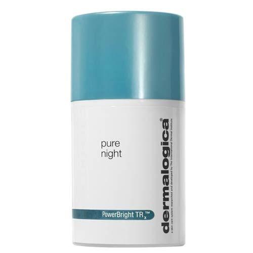 Dermalogica PowerBright Pure Night 50ml | 284,00 TL | Dermoeczanem'de Cildi aydınlatmaya ve cilt tonunu dengelemeye yardımcı nemlendirici. Cildi bu zengin gece nemlendiricisi, içeriğindeki Peptidler, Vitamin C, Niyasinamid ve Çinko Glisinat ile siz uyurken cilt tonunu dengelemeye ve lekelerin açılmasına yardımcı olur. Balkabağı enzimleri ile cildi yenilerken, Yabanmersini ve Ahududu Çekirdeği yağları ile cilt bariyerini onarmaya ve cildi nemlendirmeye yardımcı olur.