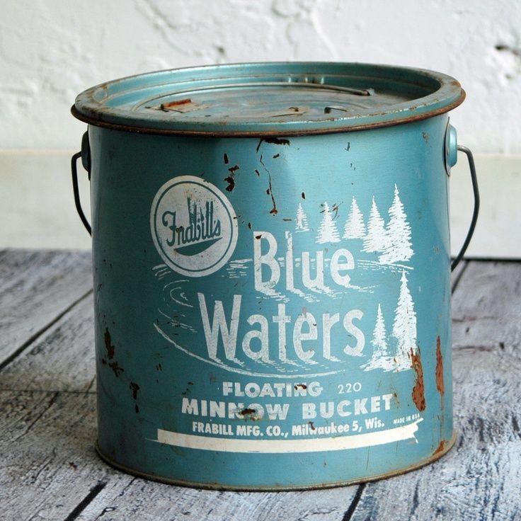 antique bait buckets   Fab.com   Bait Bucket