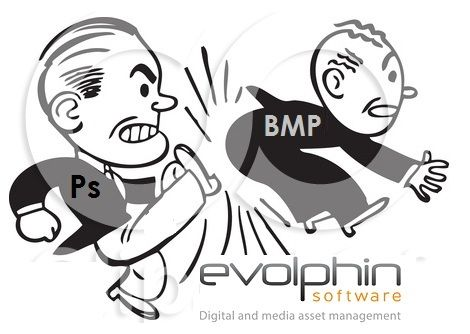 Using #Adobe #Photoshop format instead of BMP with #Evolphin Zoom saves over 97% storage space. http://www.evolphin.com/benefits-of-using-adobe-psd-format-vs-bmp
