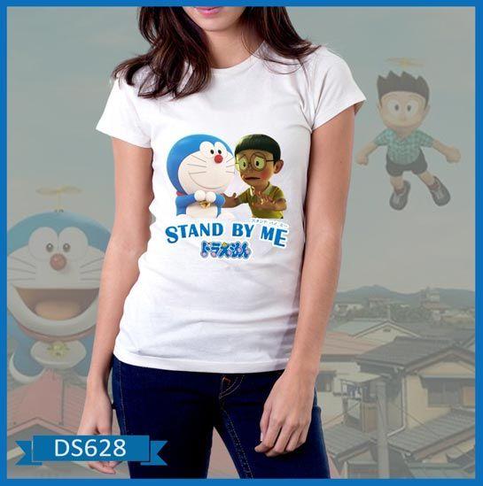 Baju Wanita Doraemon & Nobita Stand by Me http://butikpakaian.com/baju-wanita/doraemon-nobita-stand-by-me/