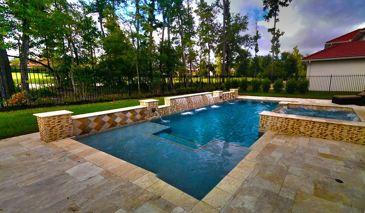 28 best images about pool design on pinterest fire pits for Pool design london ontario