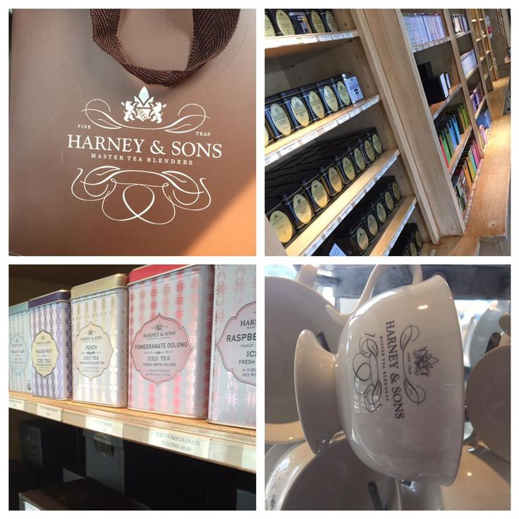 Whenever I work out in our Millerton location...I pretty much spend my lunchbreak in @HarneyTea #LoveThisPlace via @MeganAnnRebekah